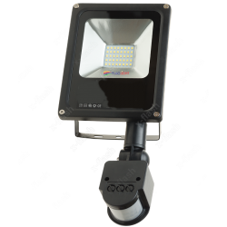 LED FLOOD LIGHT 20W SMD with PIR sensor