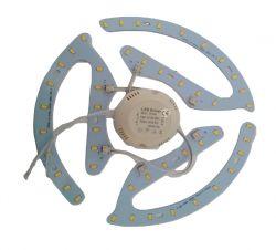 LED модул 24W - 3 * 8W  с драйвър