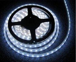3528 - 60 LED/м Двойно влагозащитена студено бяла