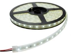 3528 - 60 LED/м Двойно влагозащитена ТОПЛО БЯЛА