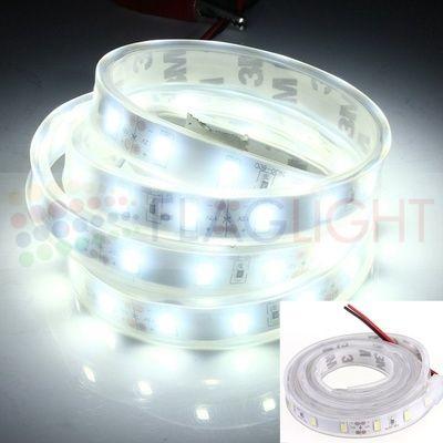 5630 - 60 LED/м двойно влагоз. в шлаух- БЯЛА