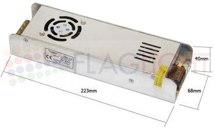 захранване за светодиодно осветление 12V 360W