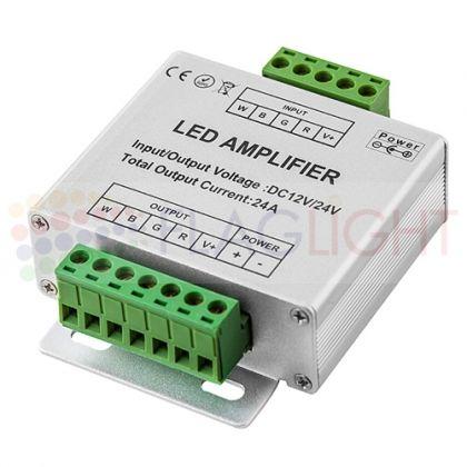 Усилвател за RGB W  контролер 288W