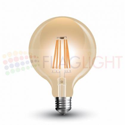 LED крушка filament E27 6W= 55W