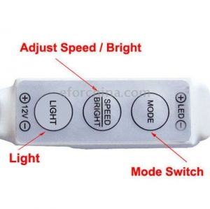 Dimmer for LED strips