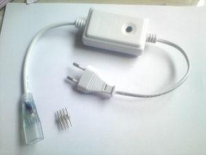 Захранващ кабел с контролер за 220V  RGB LED лента