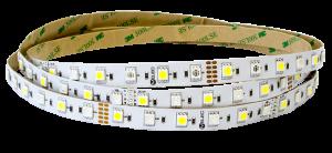 5050 - 60 LED/м RGB + бяло