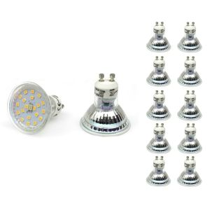 Economy Multi Pack 10 pcs. LED Spot Light GU10 3W SMD 2835 ►2.49 BGN