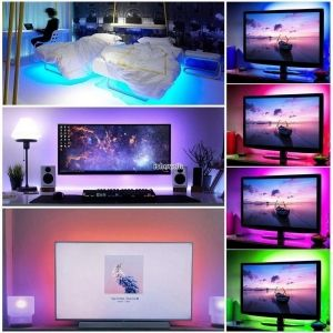 SET LED STRIP  5050 30 LED/m RGB +controller + adapter 12V ► 1m, 2m, 3m, 4m, 5m