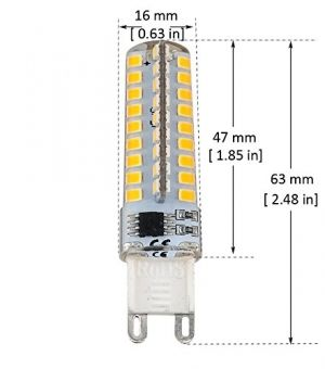 LED G9 5W dimmable